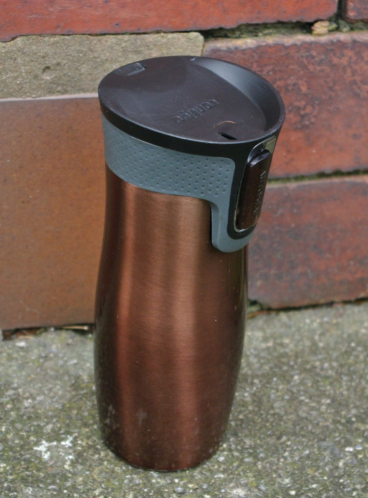 Brimmed with coffee, my Contigo helps me to survive the day...
