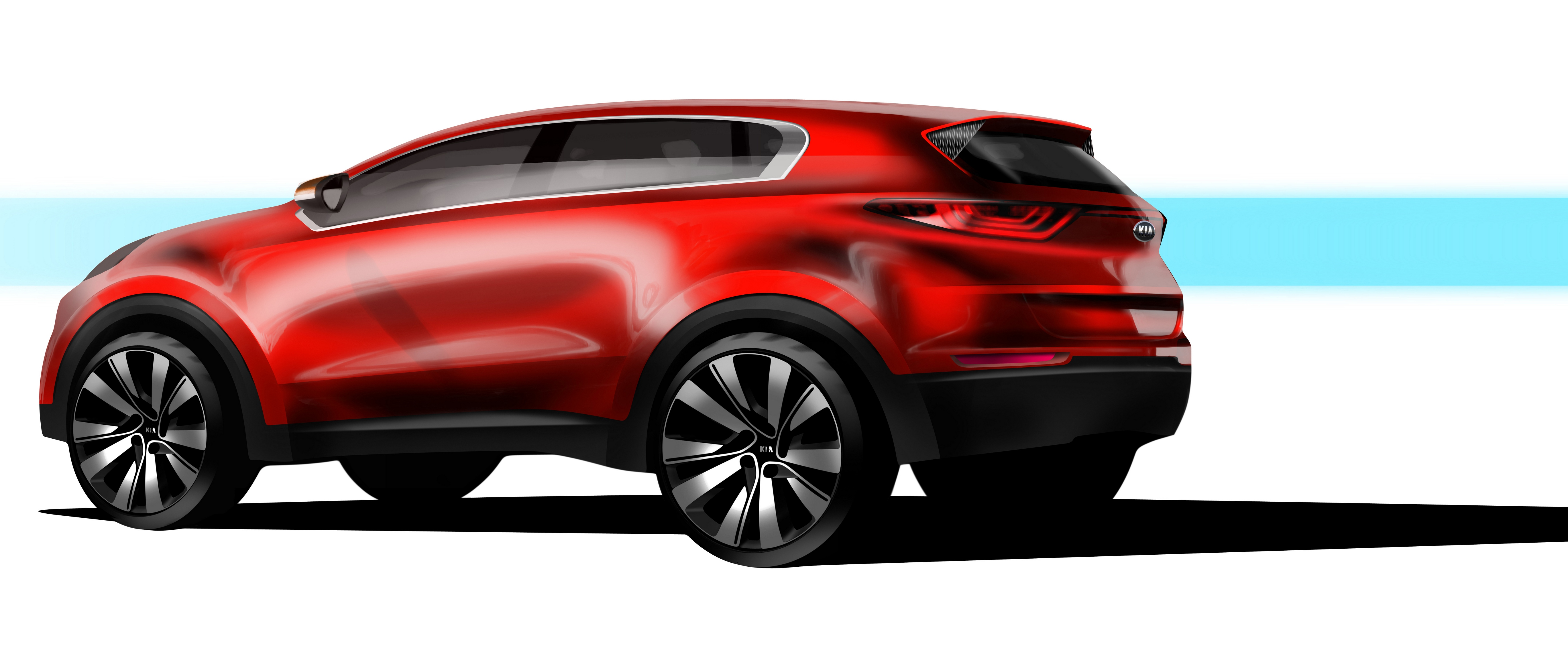 sportage with facelift kia looks new suv chinese for launch gets news sorento